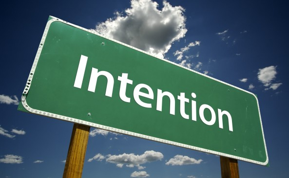 Setting Powerful Intentions Before You Do Anything!