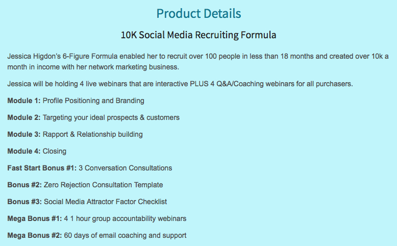 10K Social Media Recruiting Formula Bonus from Mike Hobbs