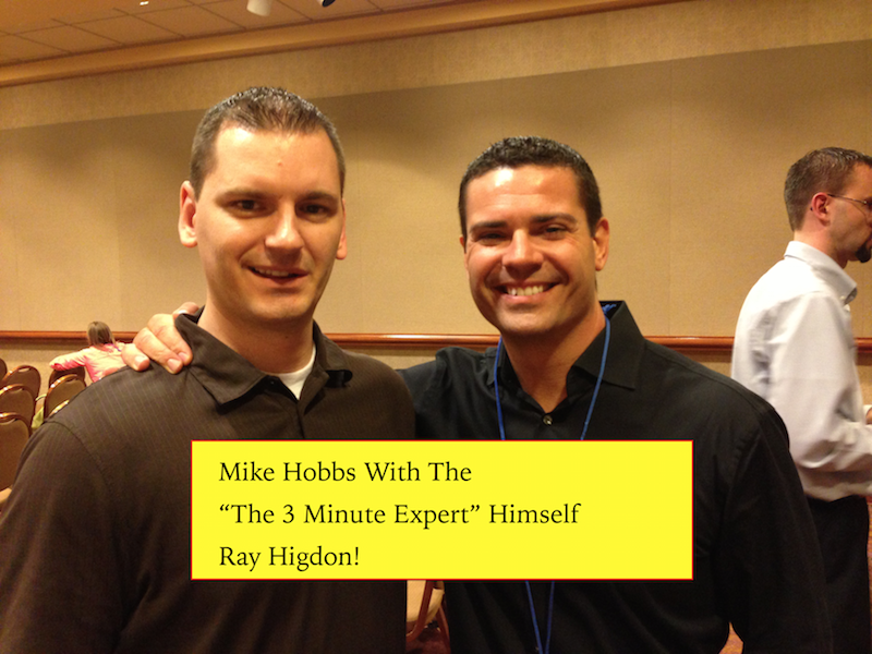 the 3 minute expert ray higdon